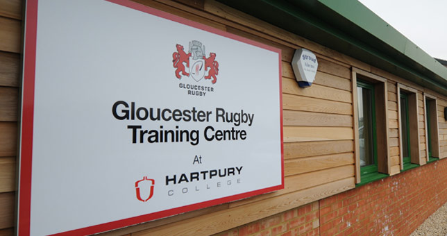Gloucester Rugby At Hartpury College …